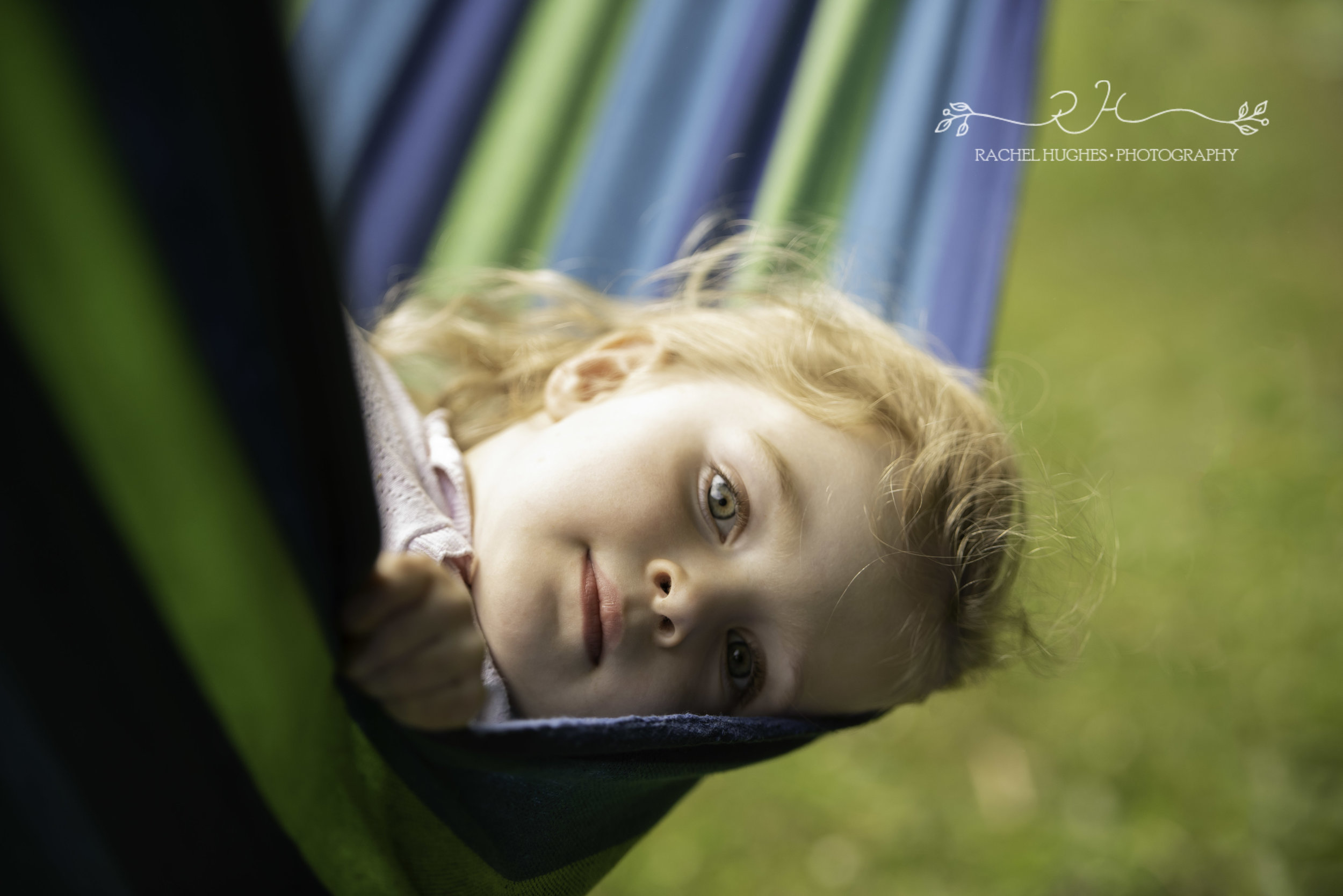 Girl in hammock family photography Henley-on-Thames