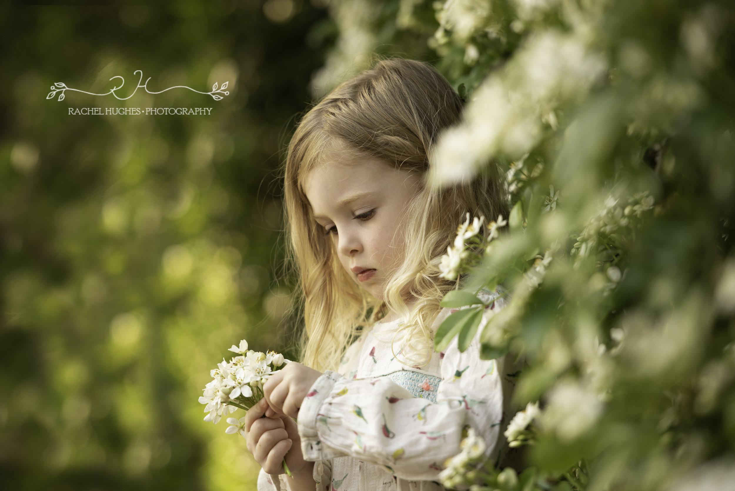 Girl in garden family photography Henley-on-Thames