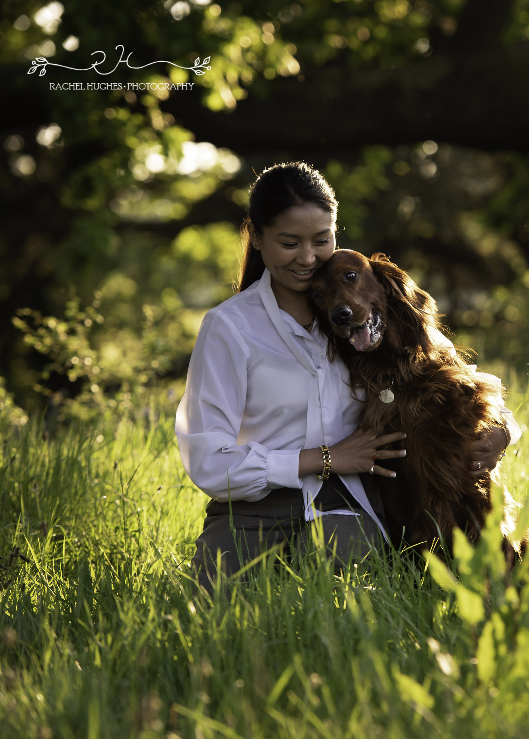Jersey photographer - strong bond with dog