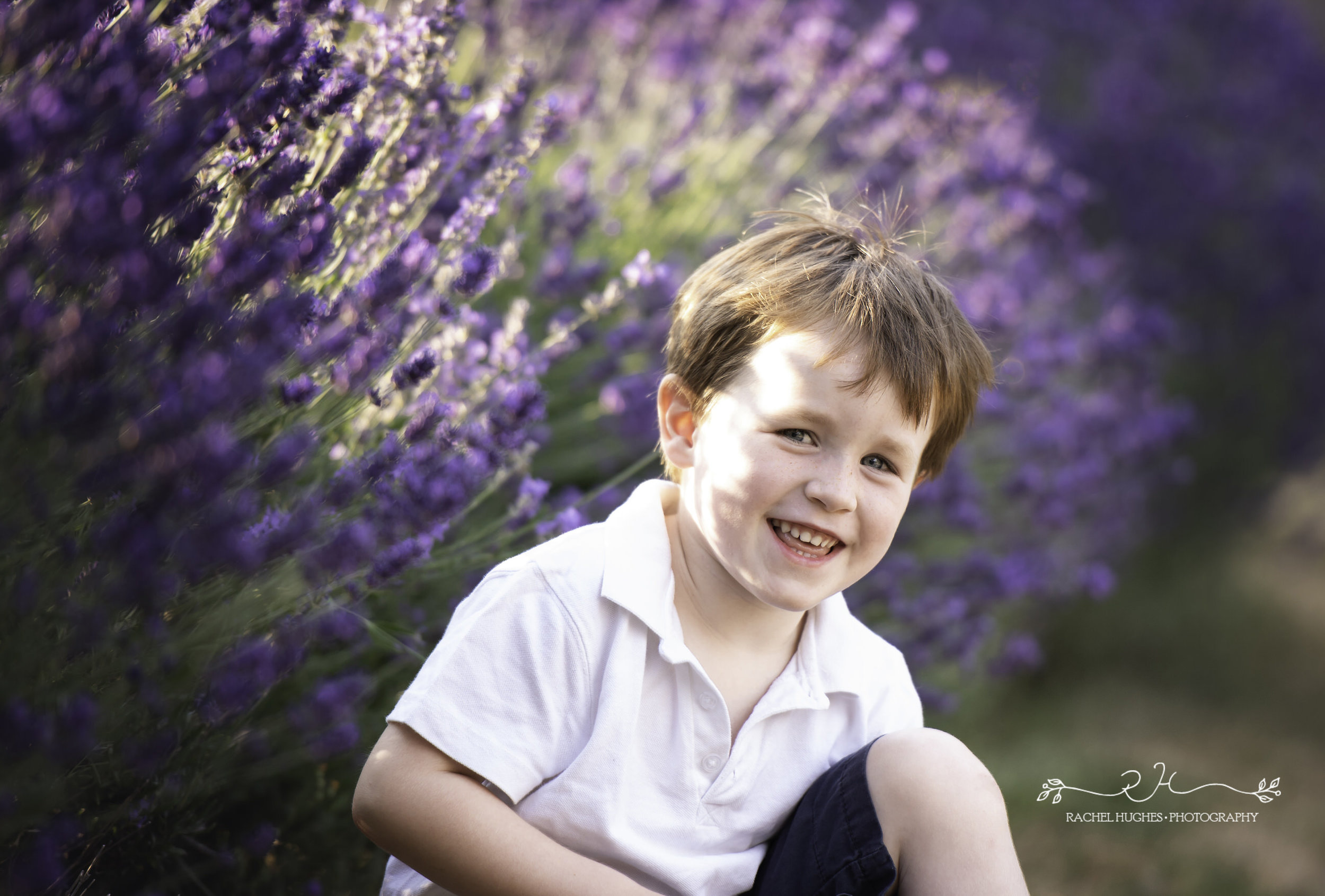 Jersey photographer - boy in lavender