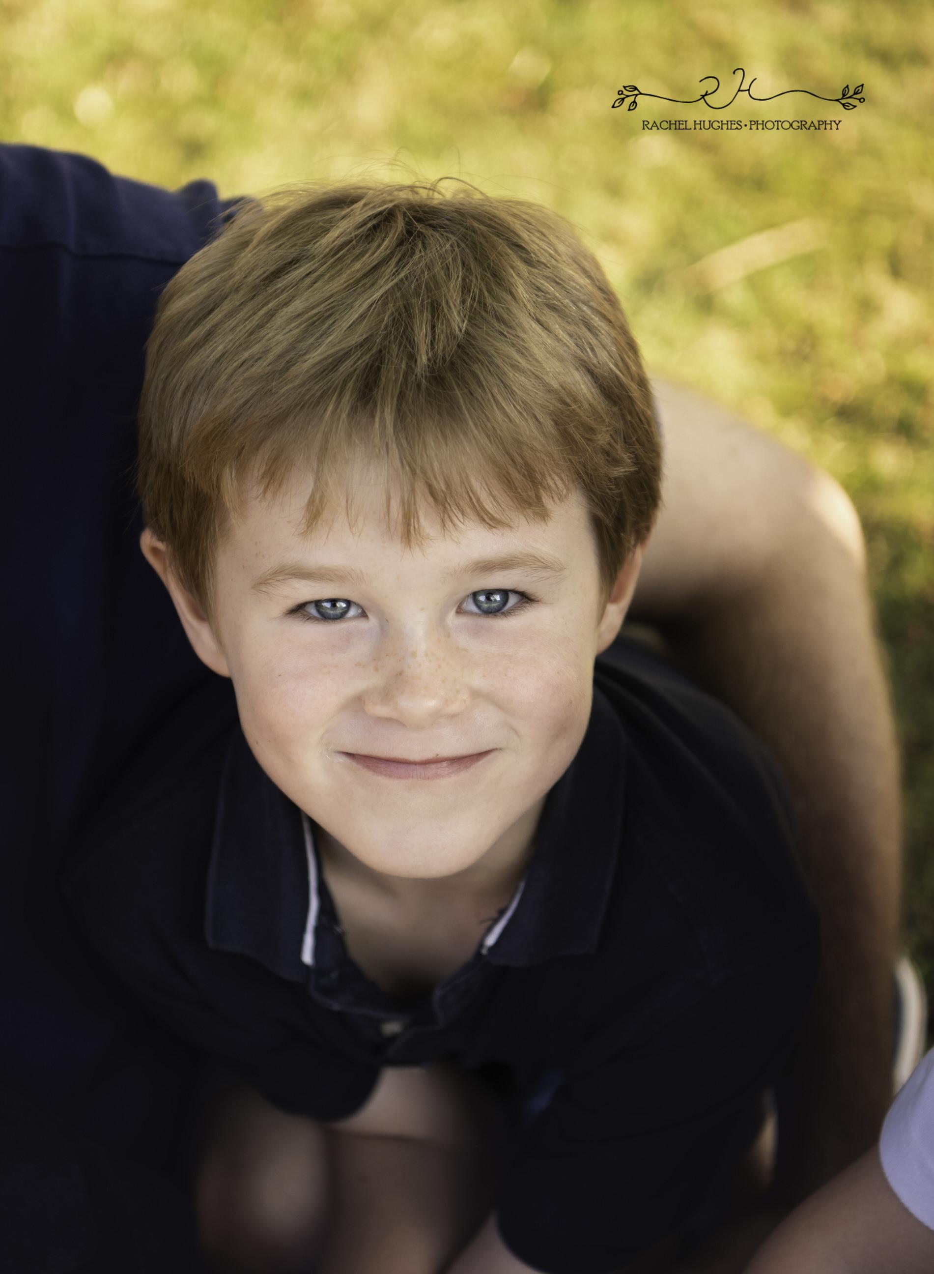 Jersey photographer - blue-eyed boy portrait