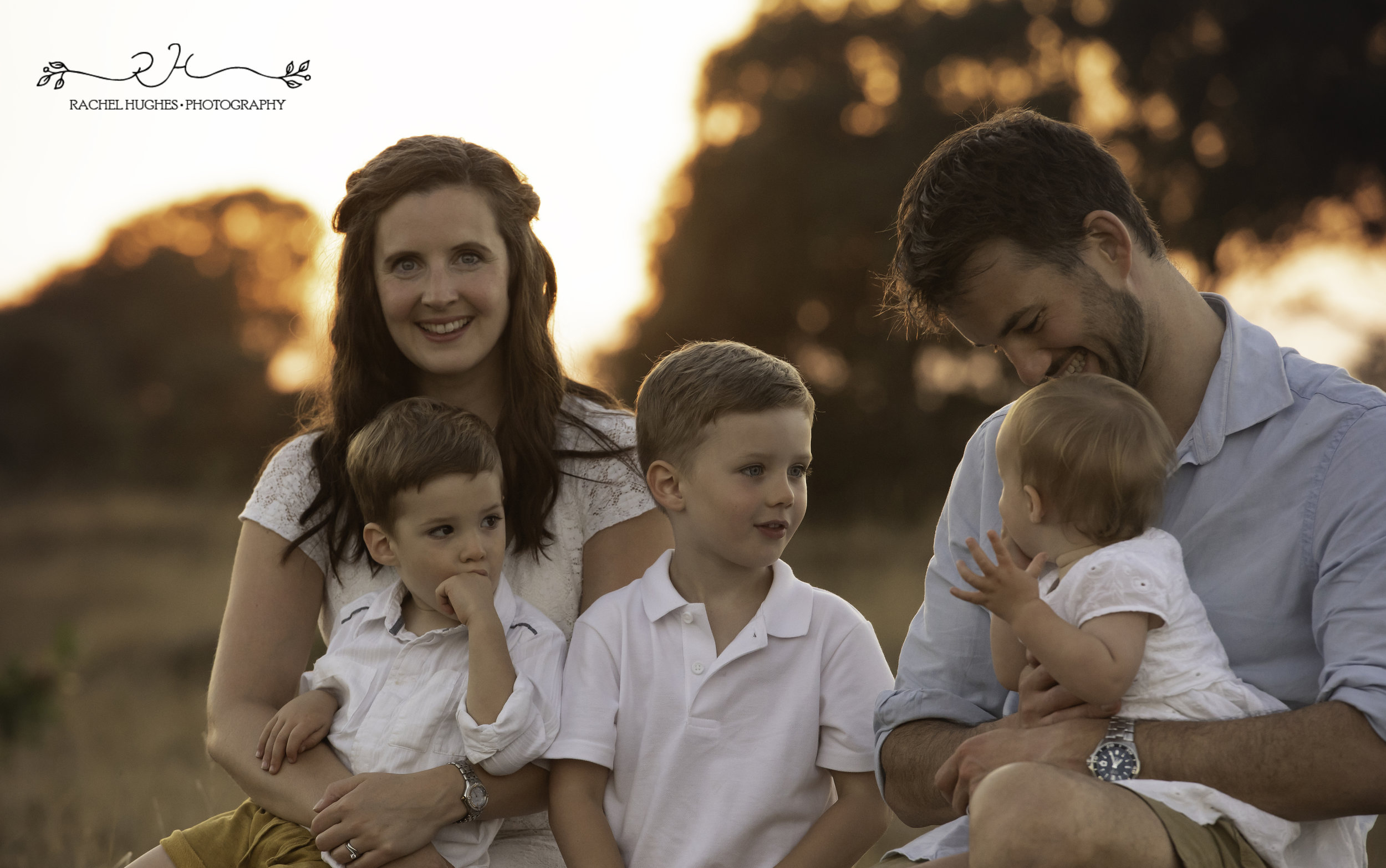 Jersey photographer - sunset family photoshoot at St Ouen's