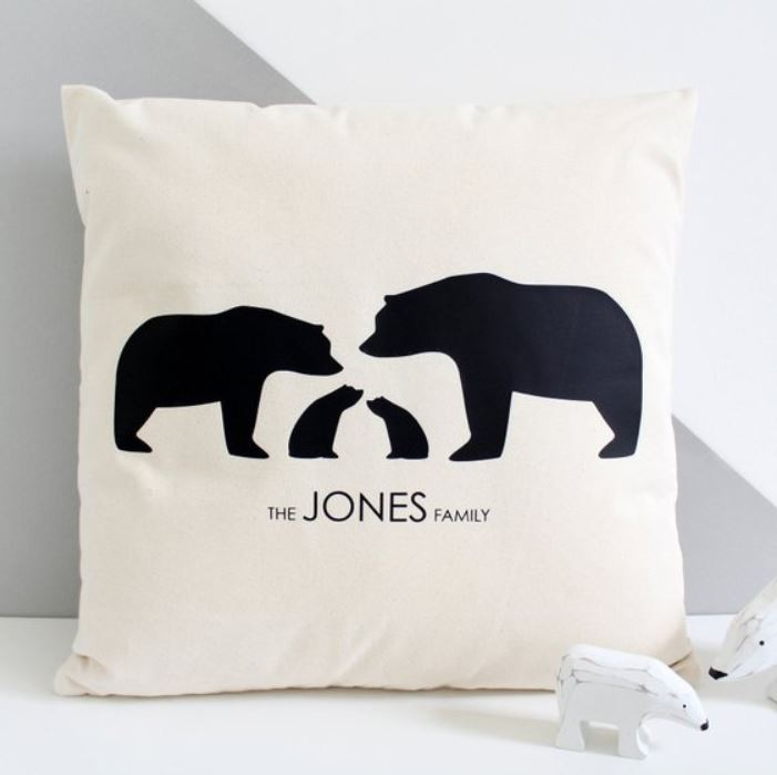 Jersey photographer: Mother's Day gift idea cushion