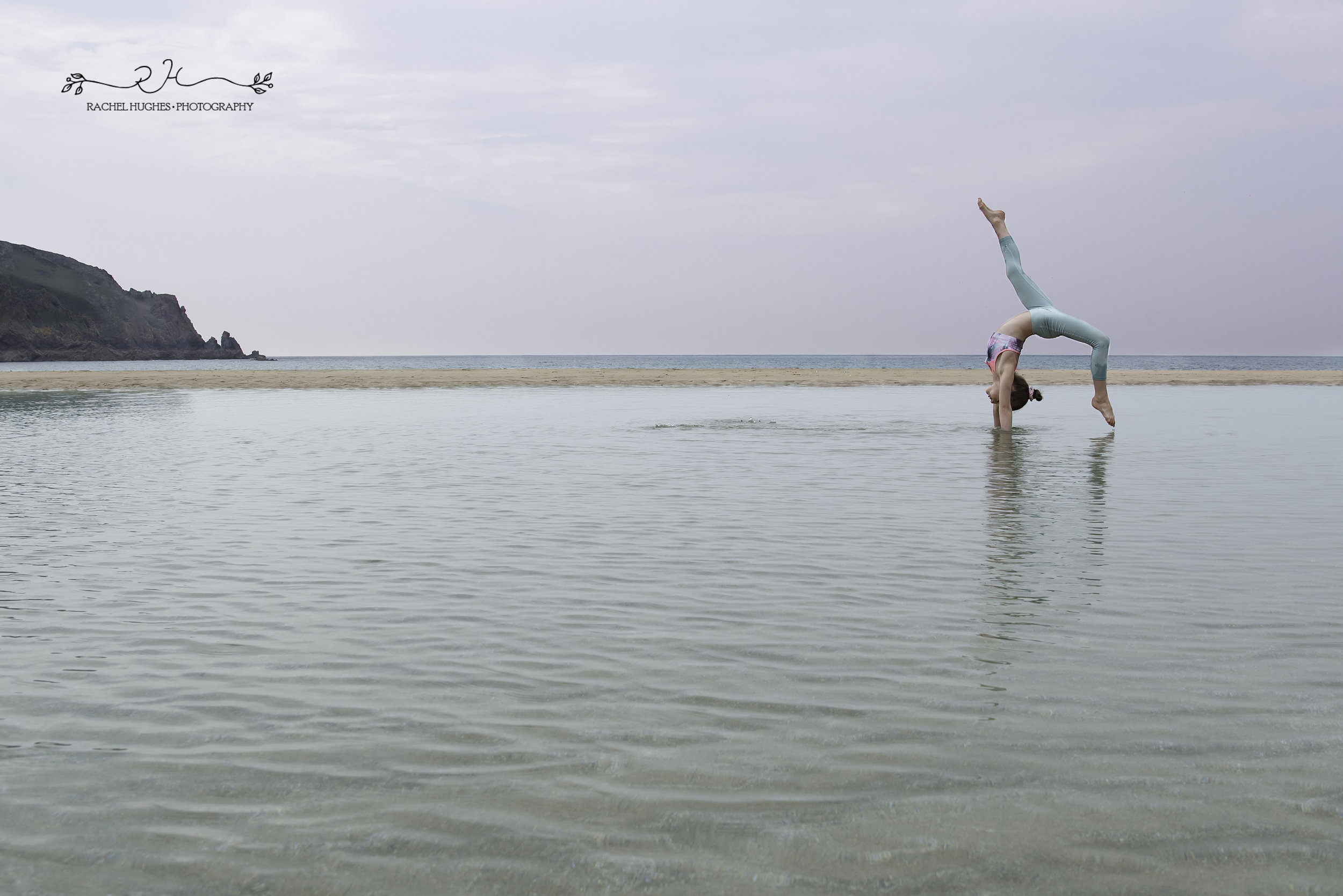 Jersey photographer - gymnastics in tidal pools
