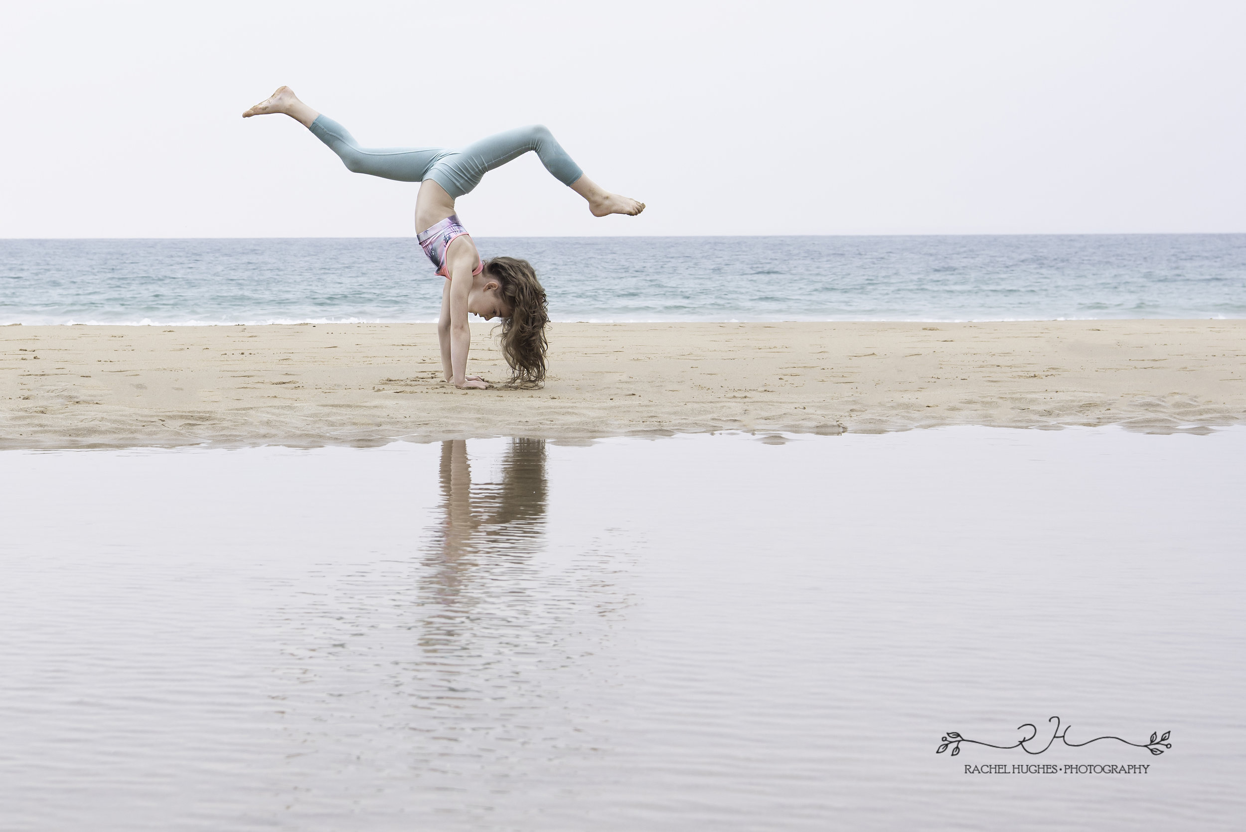 Jersey photographer - gymnast at tidal pool