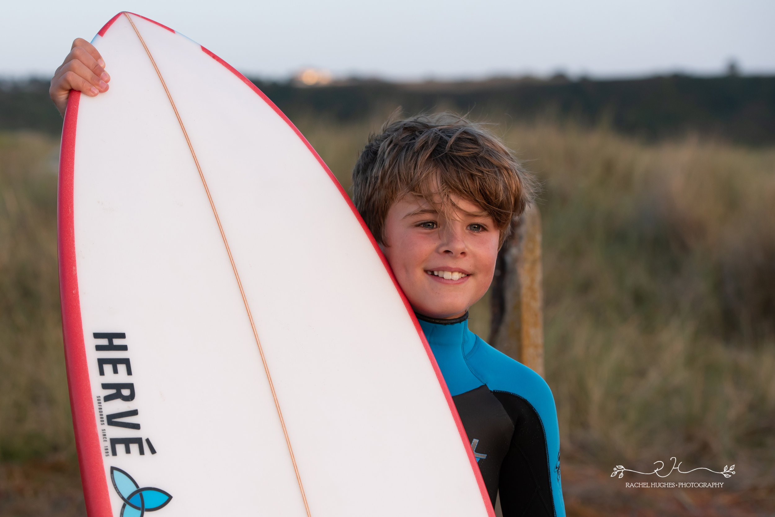 Jersey photographer - boy posing with board