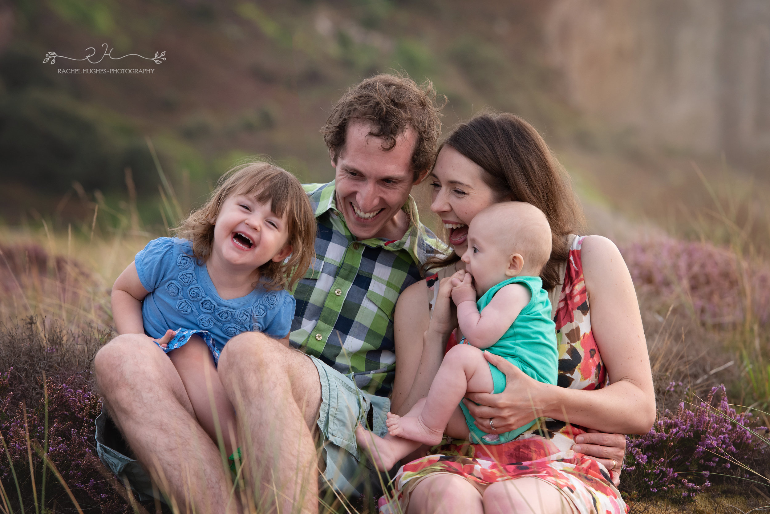 Jersey photographer - family photoshoot at Ouaisne Bay