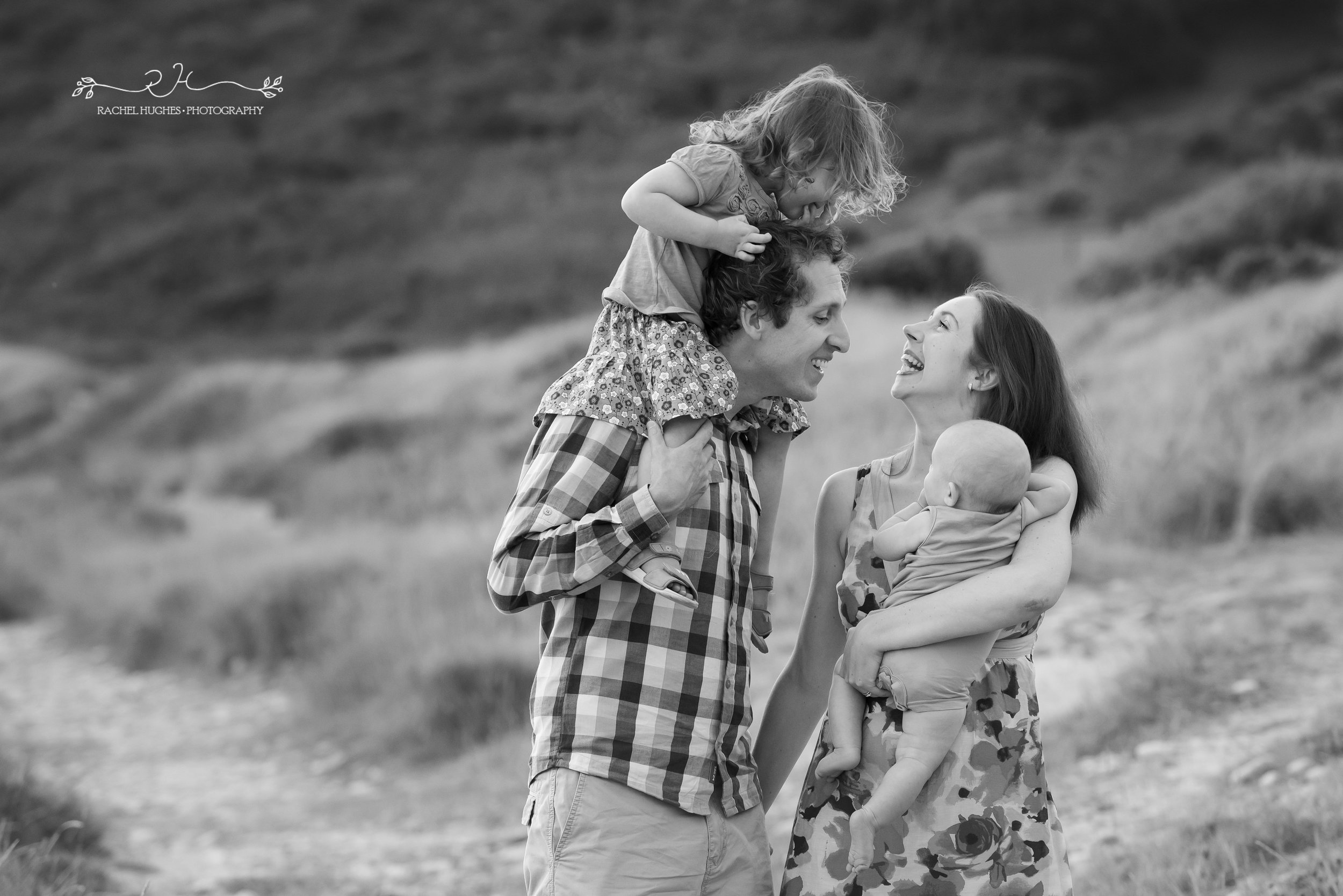 Jersey photographer - natural family photograph
