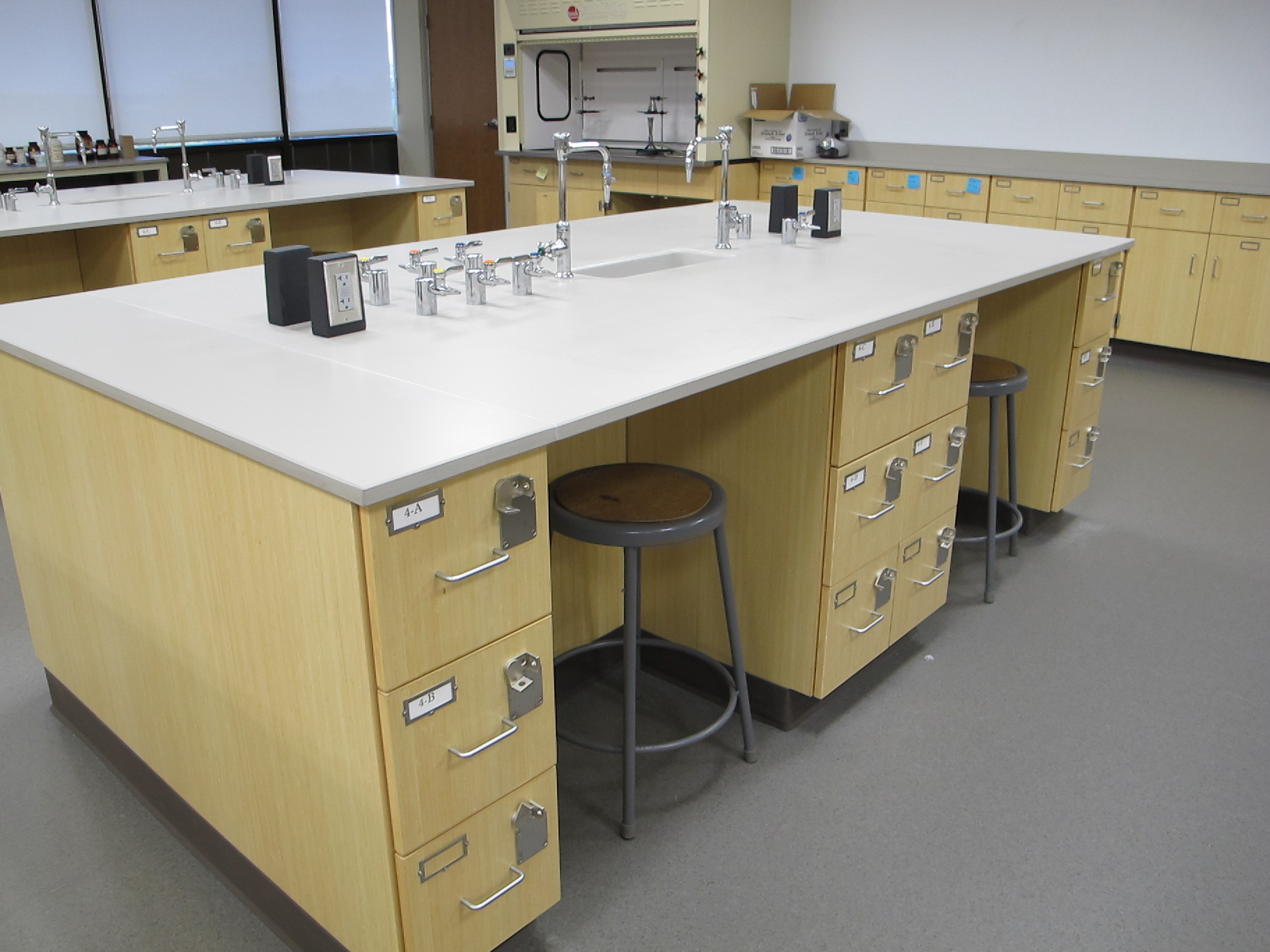 Science Lab Plumbing
