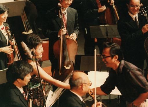 Jiebing with Chen Gang