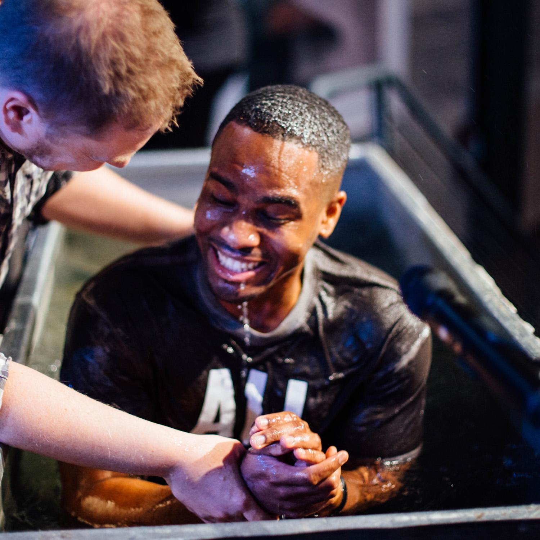 Get Baptized - Go Public with Your Faith