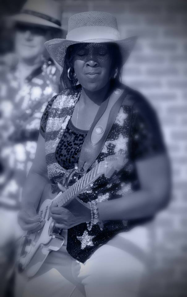 Vocalist and guitarist   BB Queen is a Detroit native, now in Nashville. She started her musical career at the age of 5. BB Queen has plays in festivals and tours regularly. She's played with Koko Taylor many times among other iconic blues players. BB Queen was born to play the Blues.