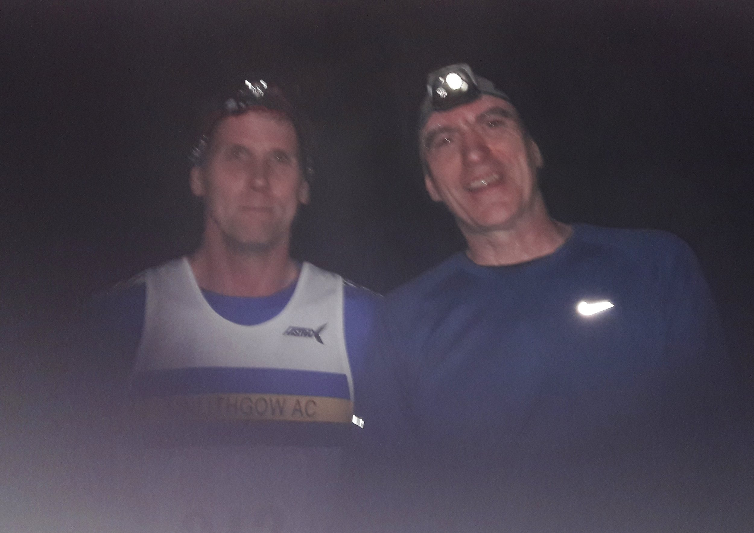 Paul and Trevor at Trossachs Trail race