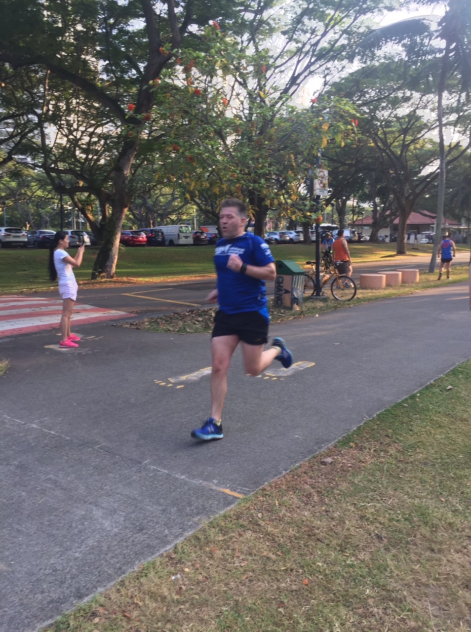 David Main-Reade at parkrun in Singapore