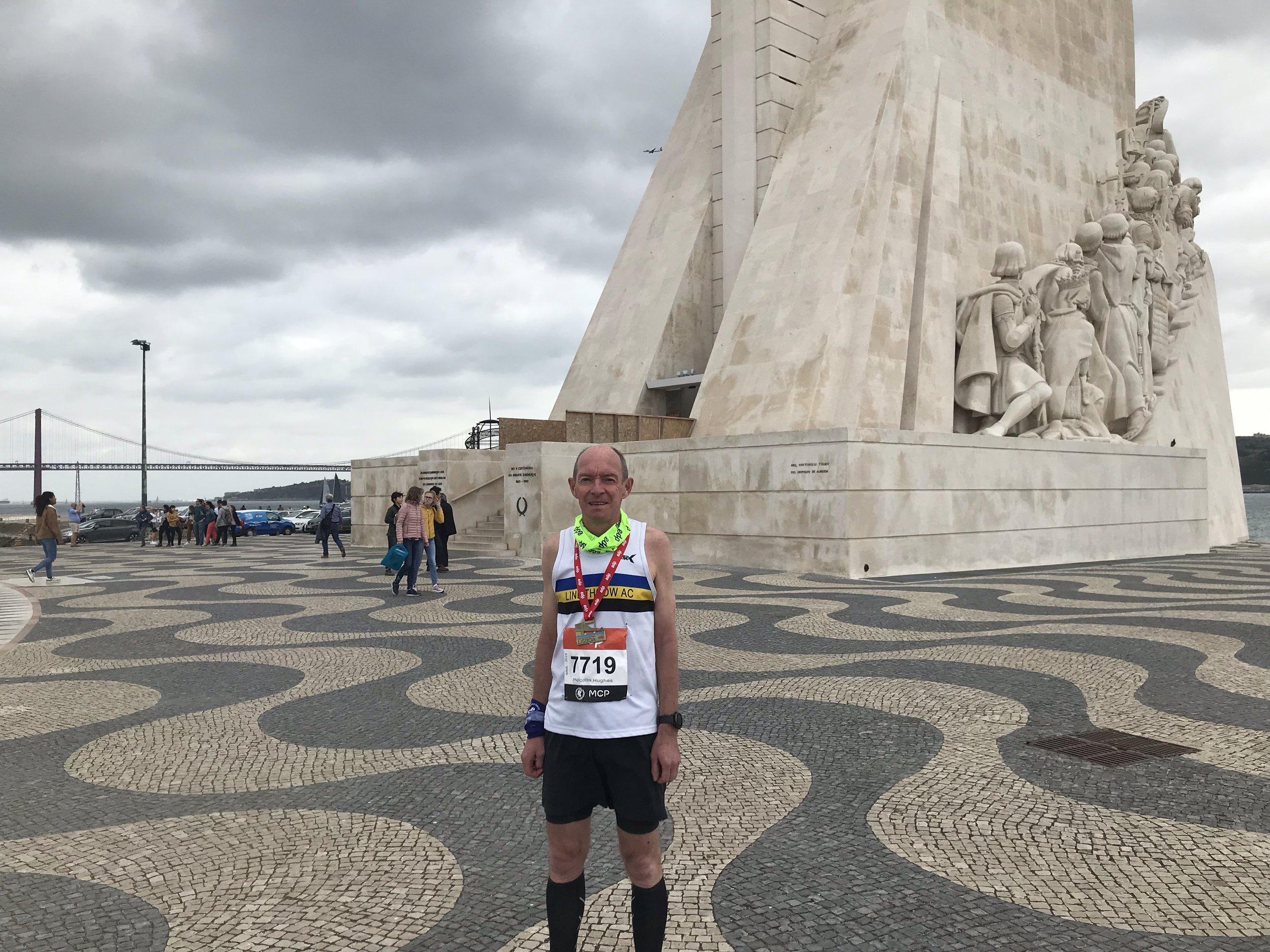 Malcolm Hughes in Lisbon