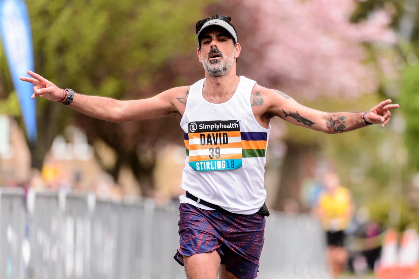 David Dalmau @ Stirling Marathon, April 28th 2019 (C) Bobby Gavin