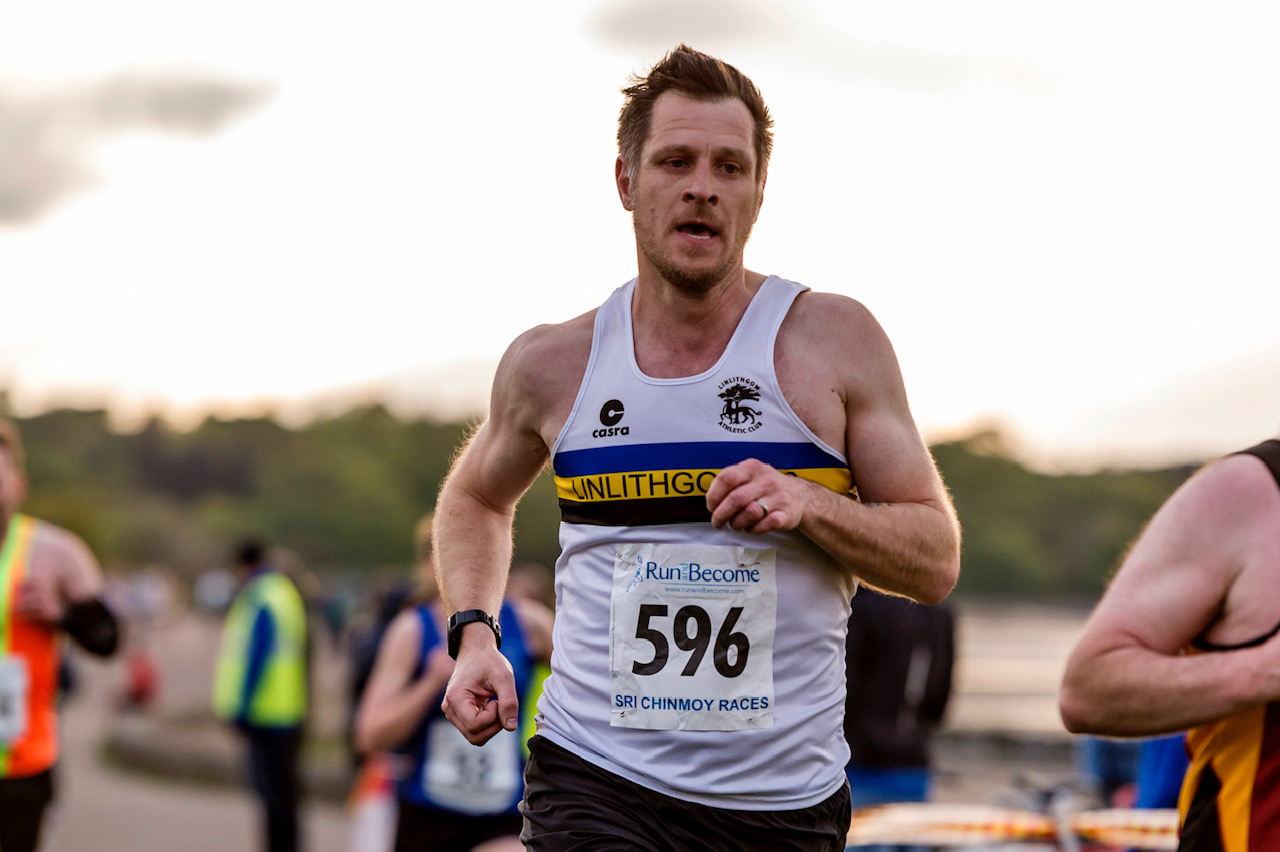 Gary Welsh at Scottish 5km Road Race Championships. Photo by Bobby Gavin, Scottish Athletics