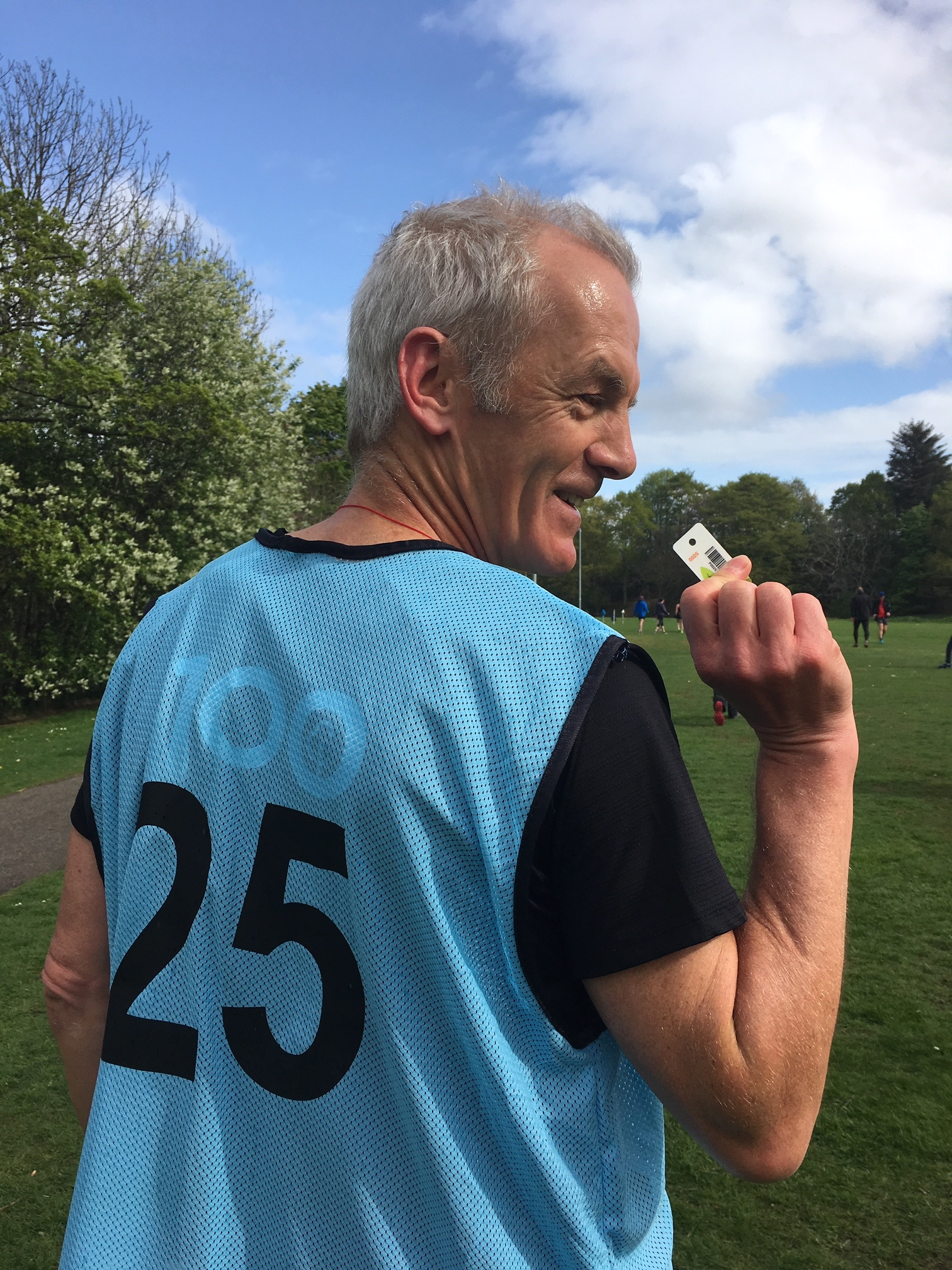 Neil at parkrun