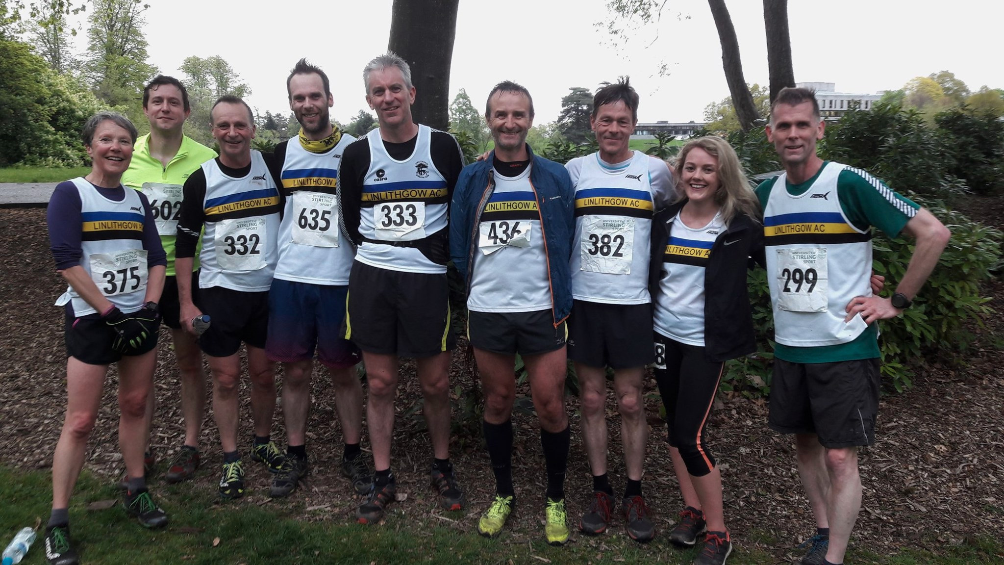 LAC runners at Dumyat Hill Race
