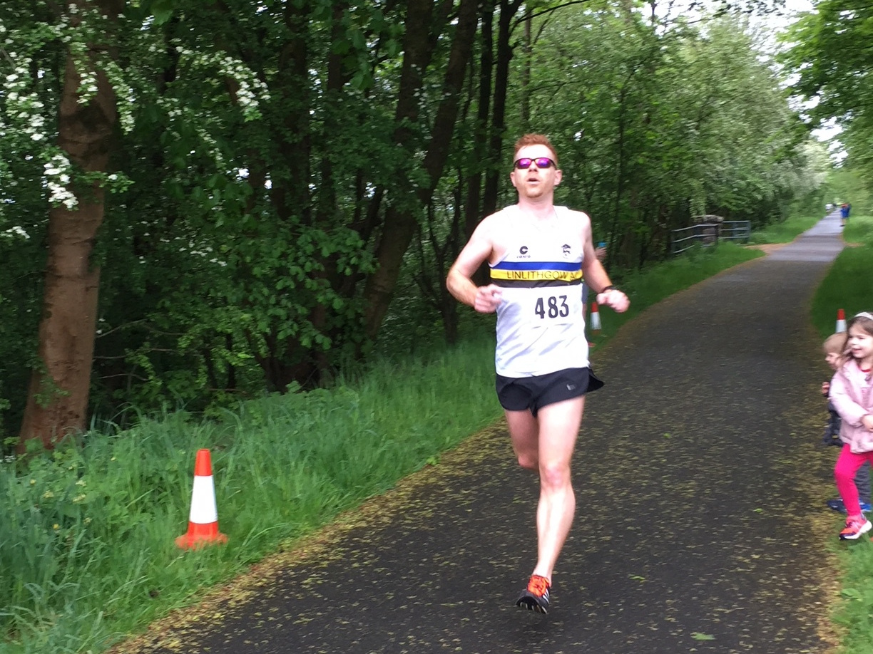 David at Lochwinnoch road race