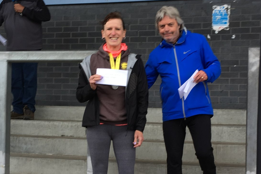 Frances Wood at Carluke 10k