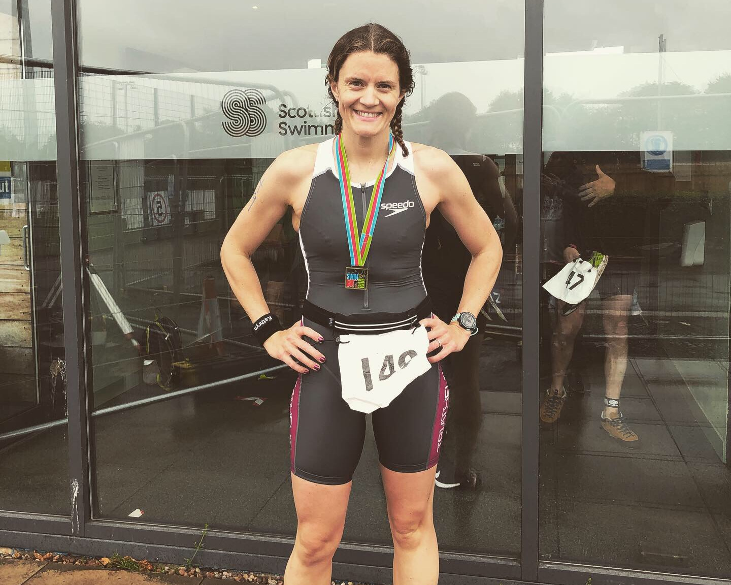Kathryn Holm at Stirling Uni Tri