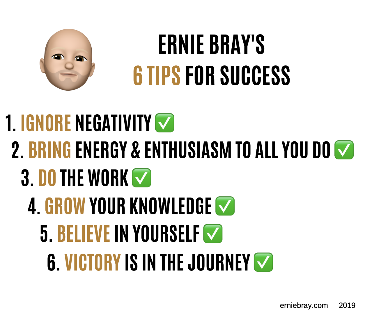 If you liked these tips, check out this article:   The Victory Is In The Journey