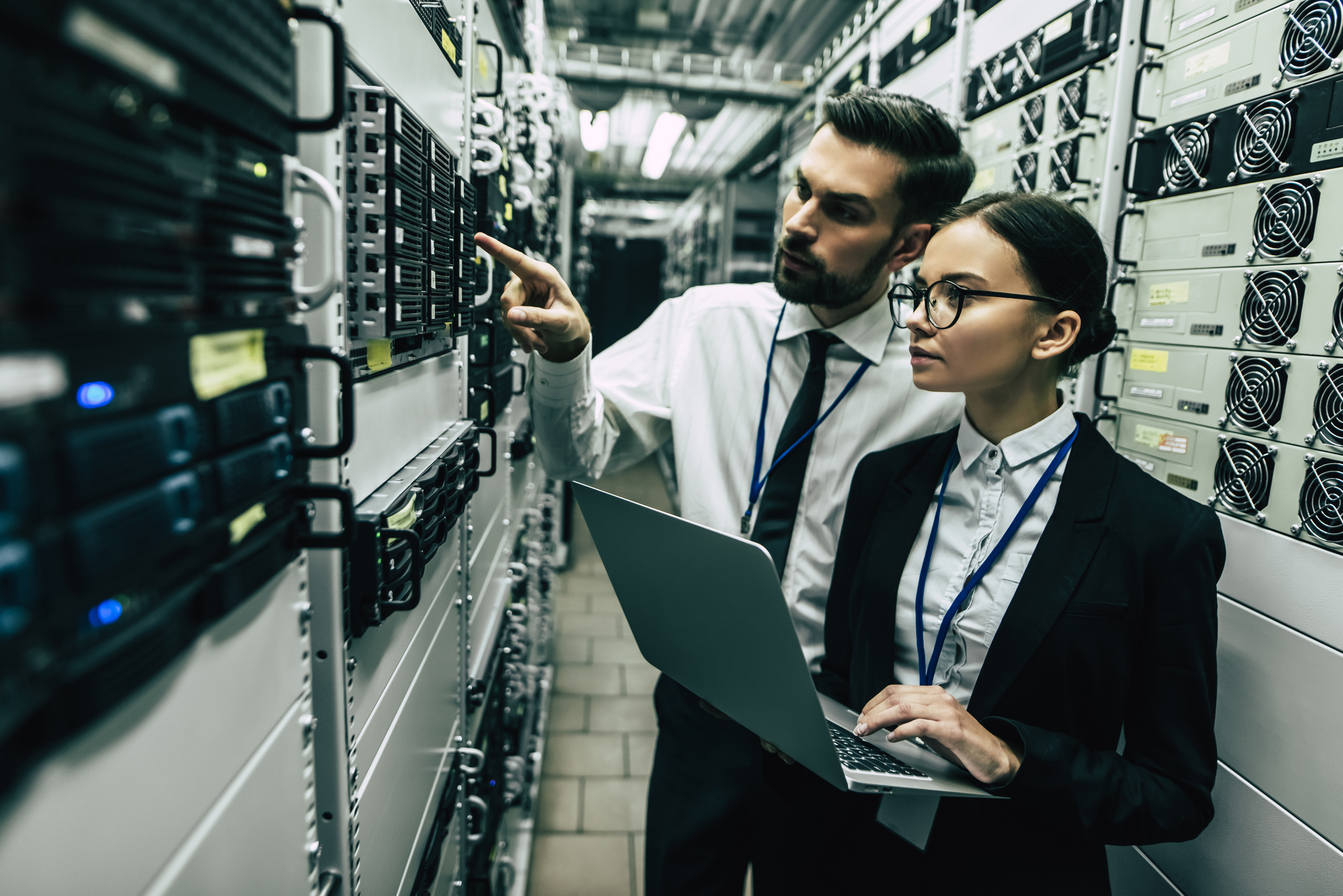 """If the tech/cloud/data center industry wants to change the perception of women then maybe start by getting some better stock photos than some dude mansplaining to a woman taking notes on a laptop."""