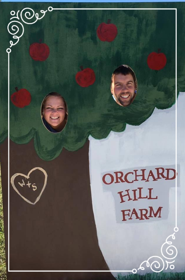 About Us - Orchard hill- our storyI'm Wes Carithers. My wife Stephanie and I own and operate Orchard Hill Farm & Country Store outside of Lewistown. We are open mid-July through October, when we sell apples, peaches, jams/jellies, baked goods, cider, wine, and many other products. Our Apple and Peach trees comprise 18 acres.Stephanie is also an Occupational Therapist and I also run a landscaping and construction company (Carithers Inc) in my