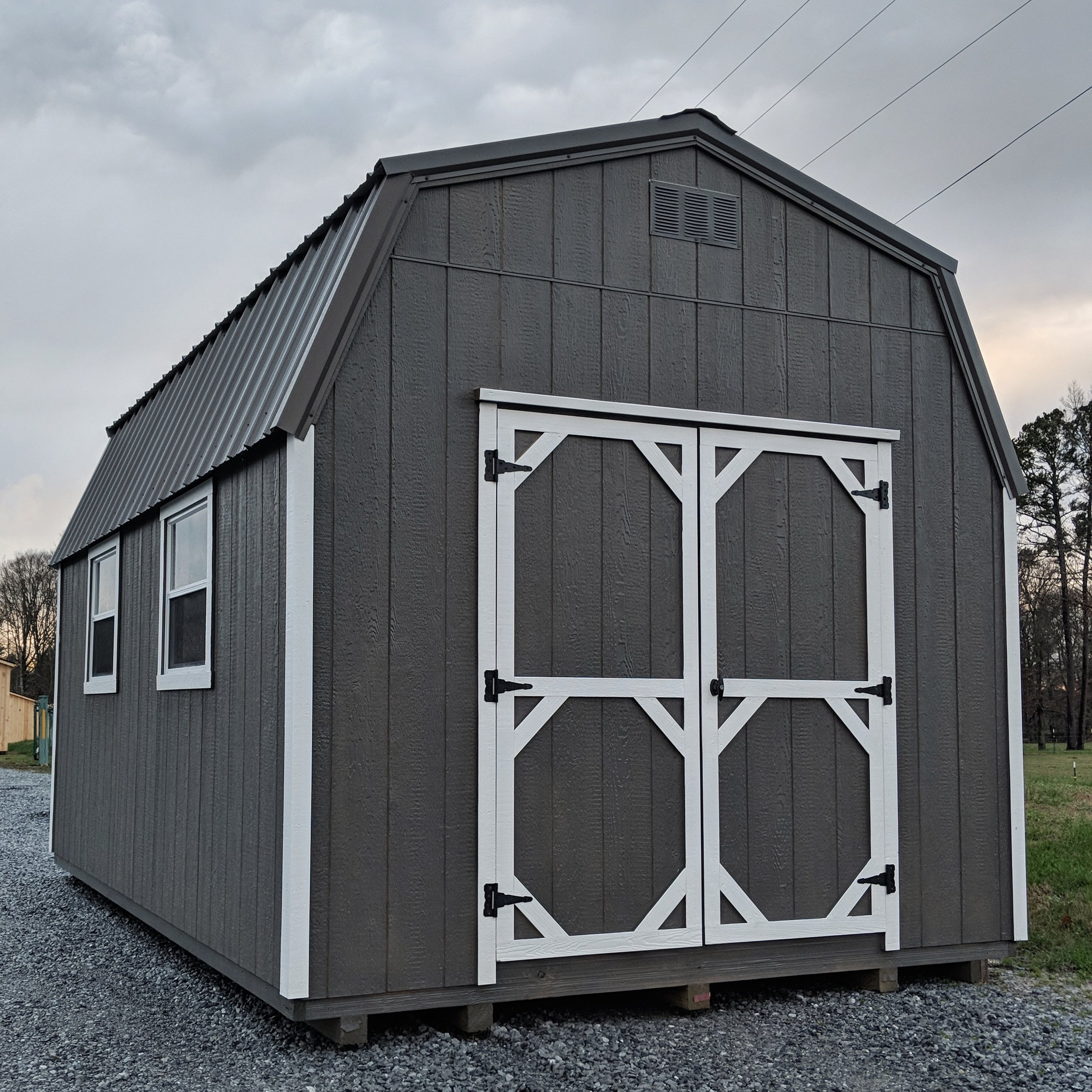 10' x 12' High Wall Barn