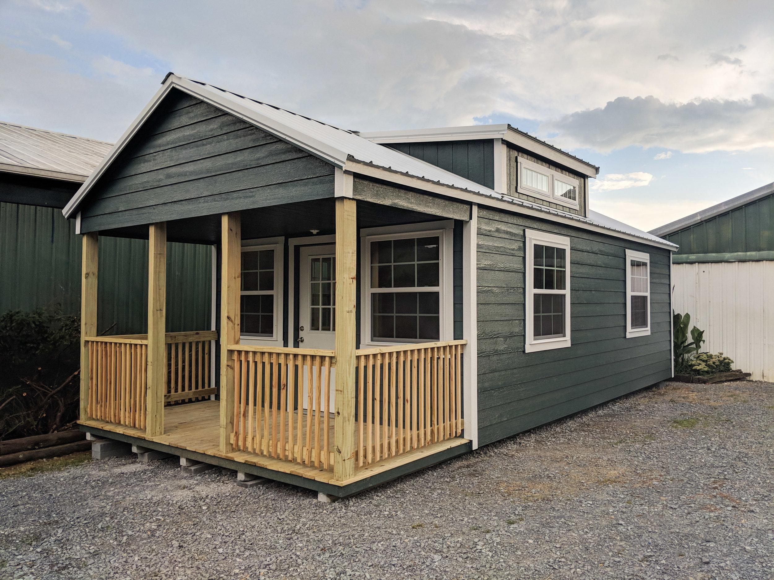 14' x 34' Cottage w/ Porch