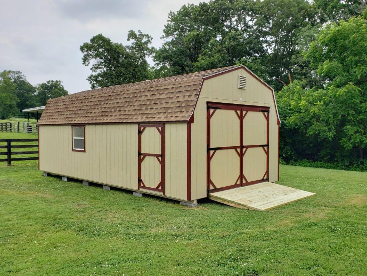 14x28 High Wall Barn