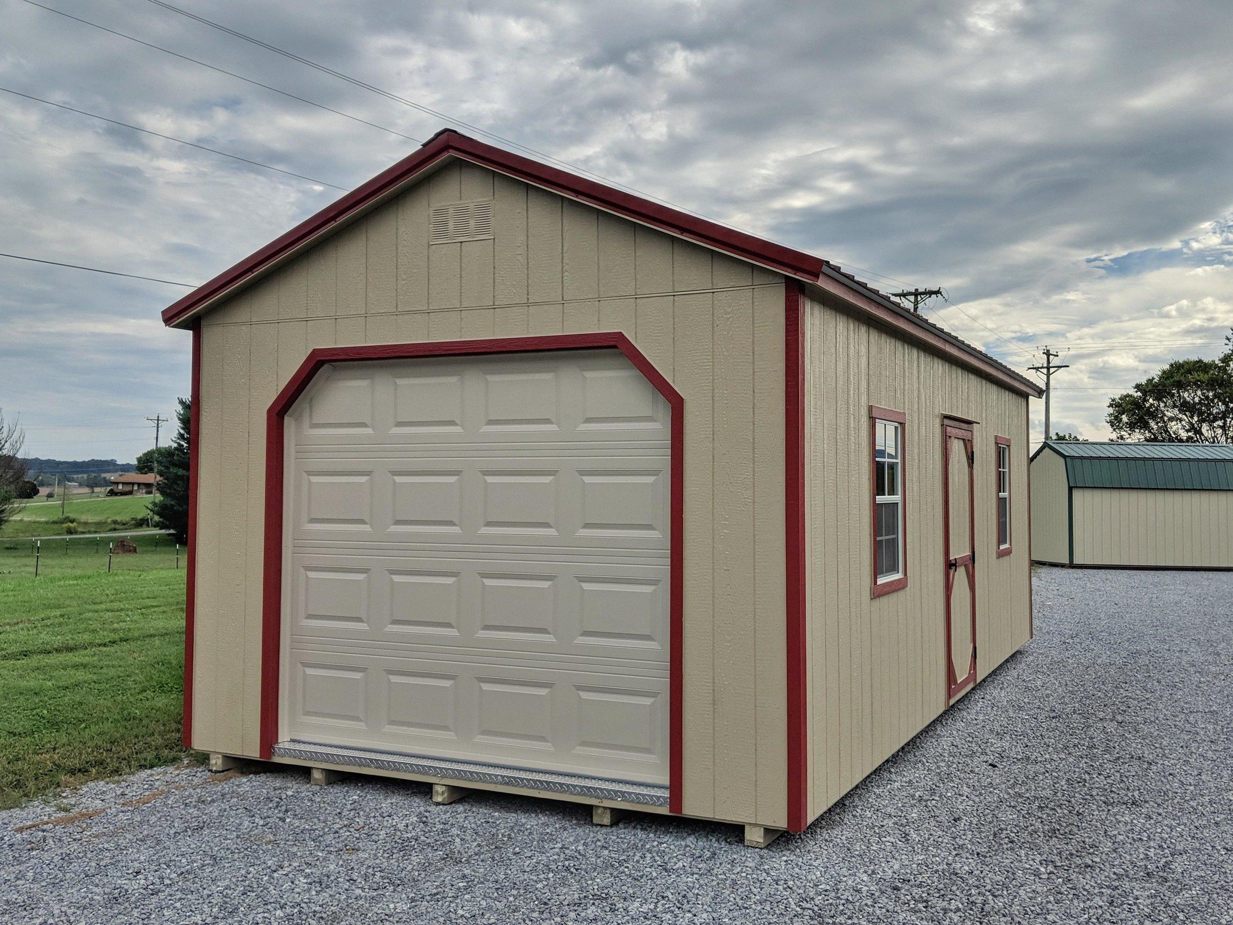 12x24 Cottage Garage