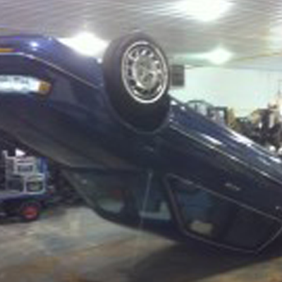 Suspended Car