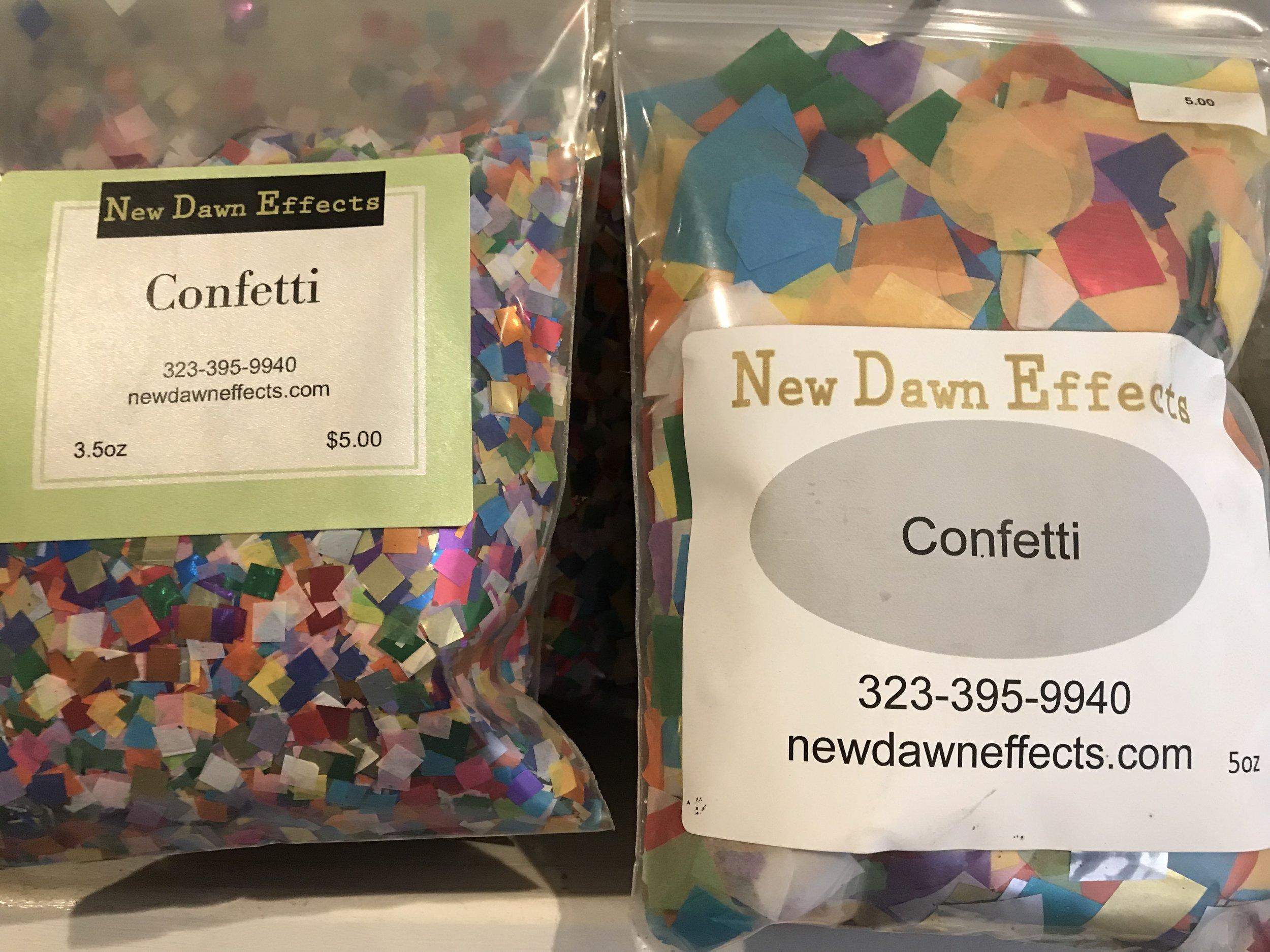Confetti $5.00