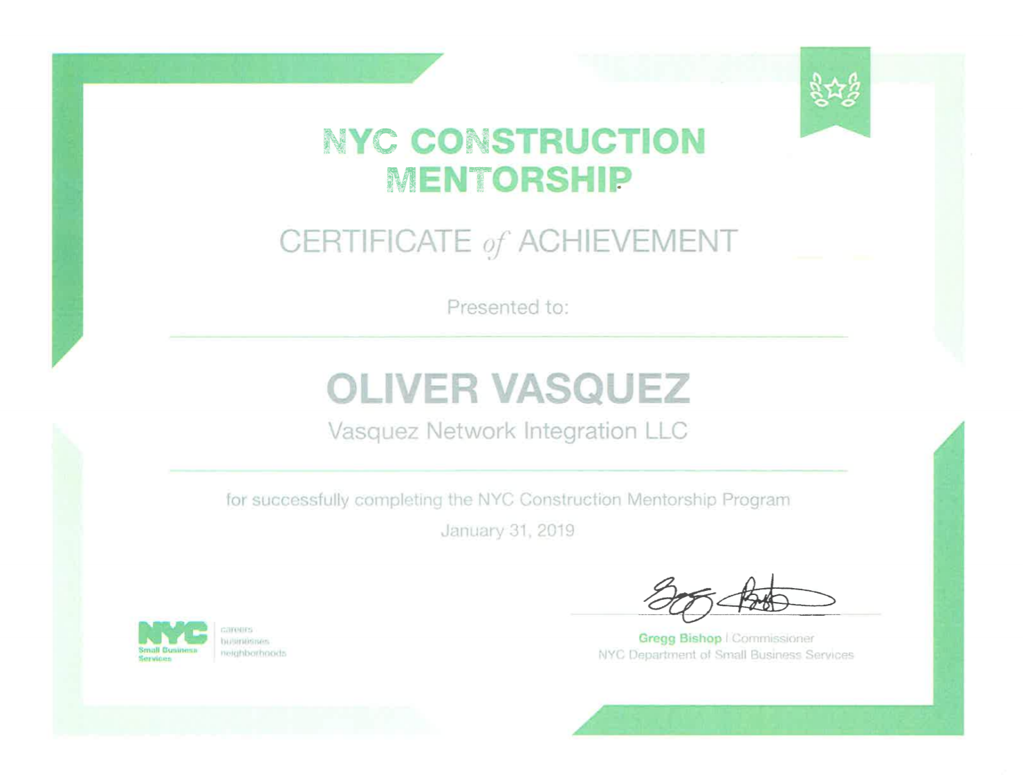 Vasquez Integrators NYC Construction Mentorship Diploma.png