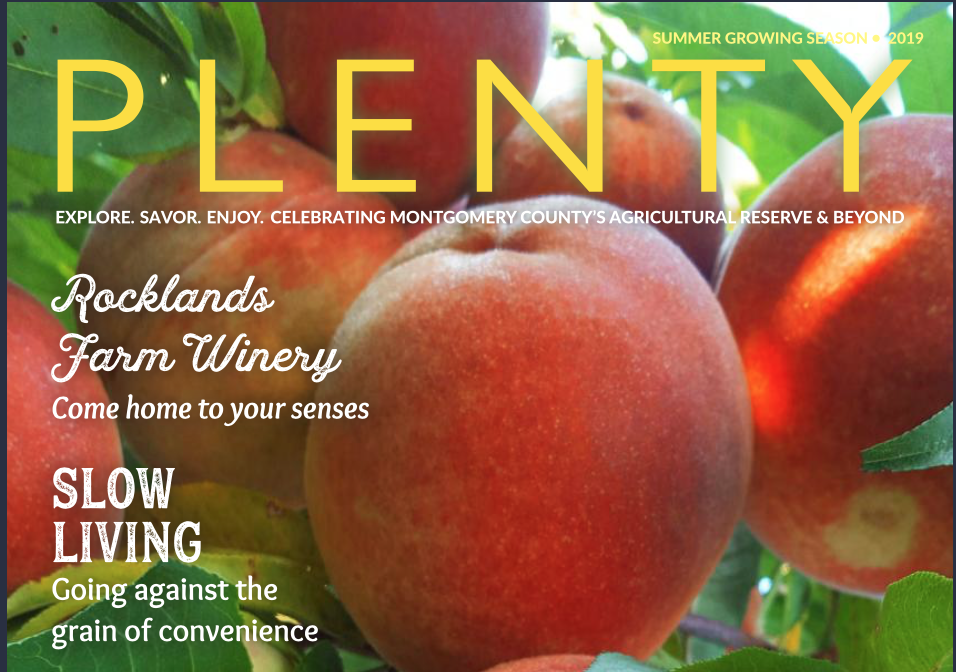 Plenty Magazine - Read about the Reserve's history of stewardship and source of good food