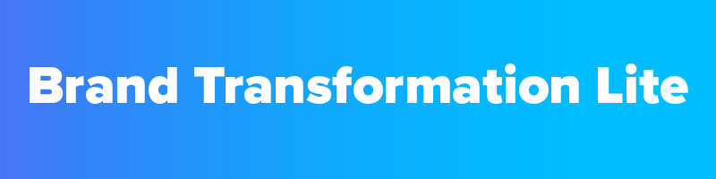 - One 2 Hour Brand Storming SessionBrand Transformation Framework CompletionMessaging GuideImplementation TasklistSocial Media Audit & RecommendationsLanding Page Website WireframeOne Lead GeneratorSales LetterFour 1 Hour Follow Up Brand Coaching Sessions