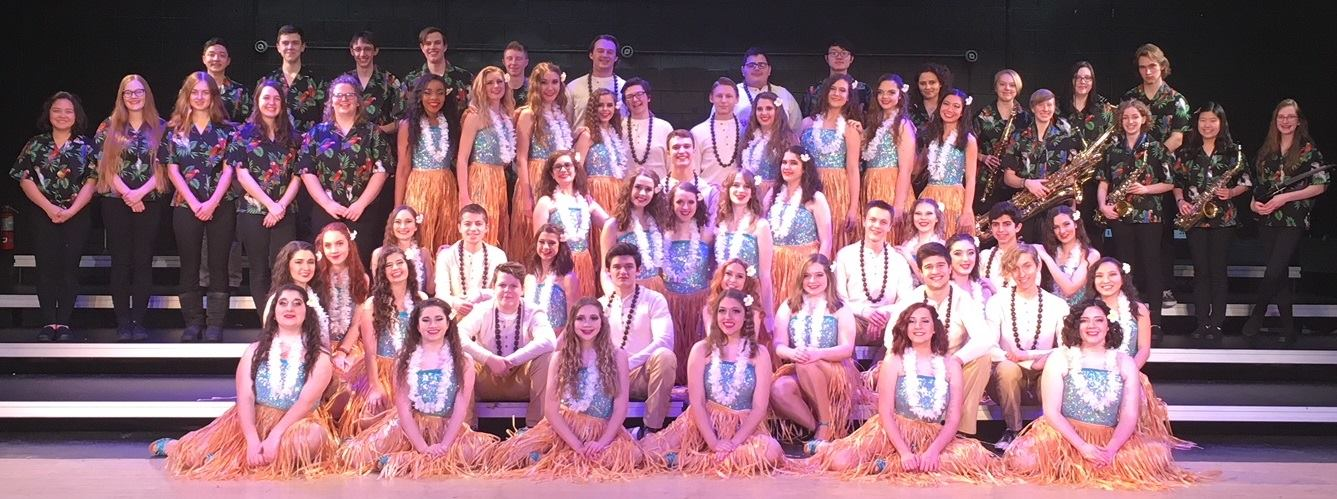 """""""Harmony Gold"""" – mixed    Walsh Jesuit High School – Cuyahoga Falls, Ohio    • First Runner-up, 2017 Fame Branson    • First Runner-up, 2018 Fame Show Choir America"""