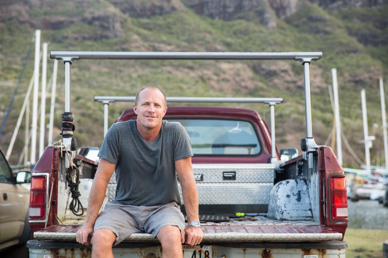 Jeff Olson - Captain. Owner.