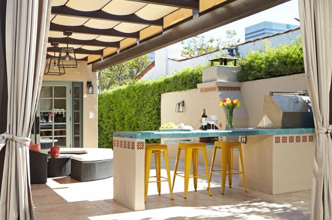 indoor and outdoor spaces Los Angeles
