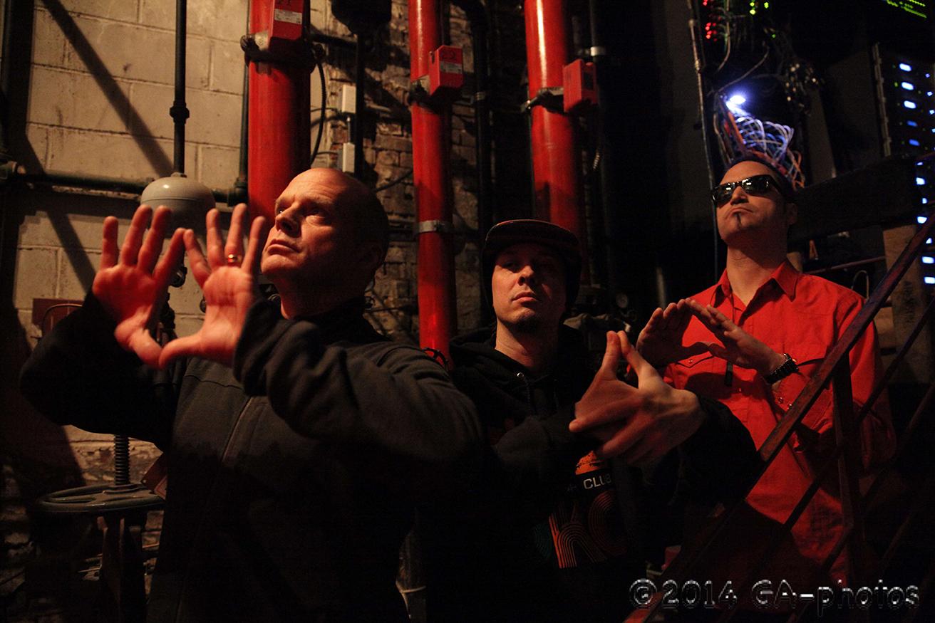 DRKWAV featuring John Medeski-keys, Adam Deitch-drums, Skerik-sax, efx