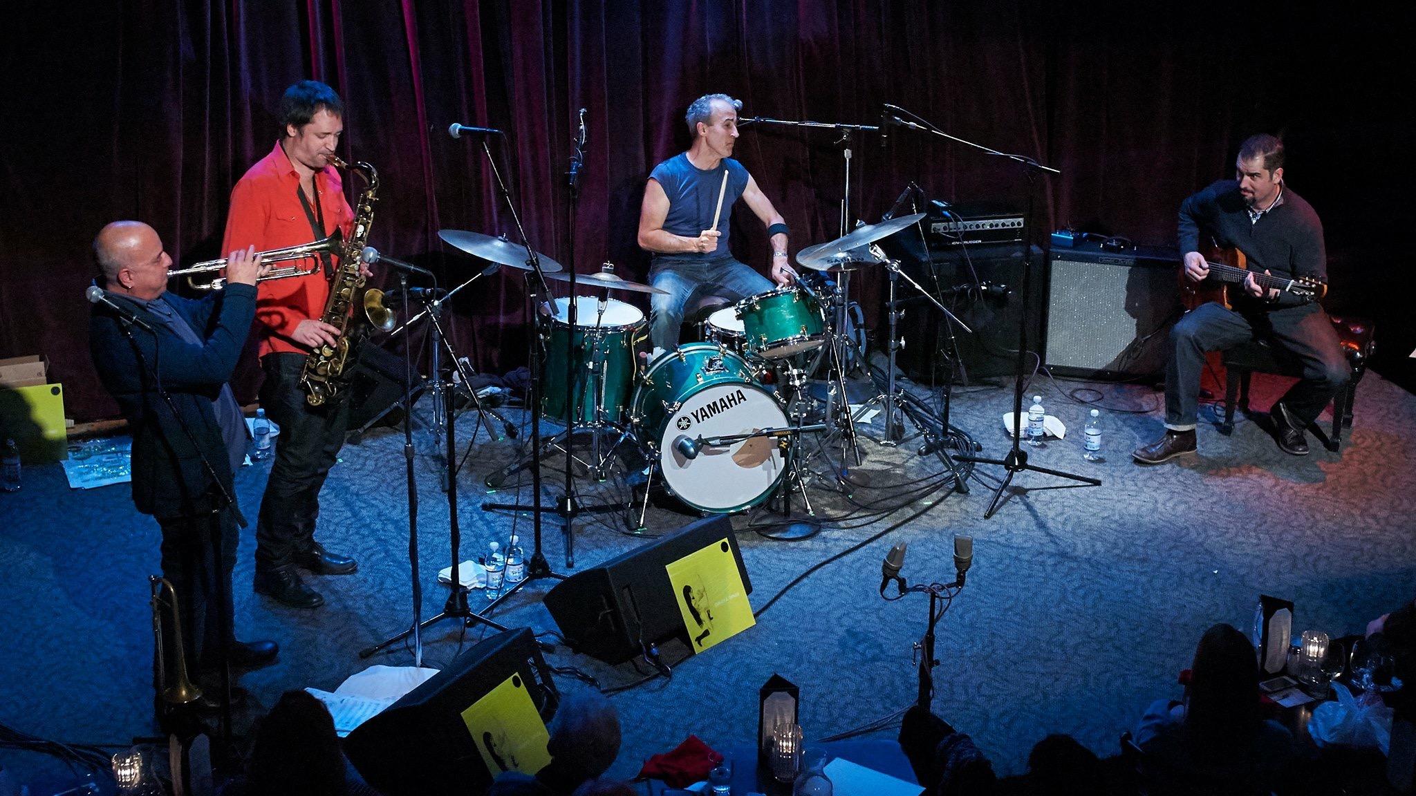 OMAHA DINER featuring Charlie Hunter-guitar/bass, Bobby Previte-drums, Steven Bernstein-trumpet, slide trumpet, Skerik-sax