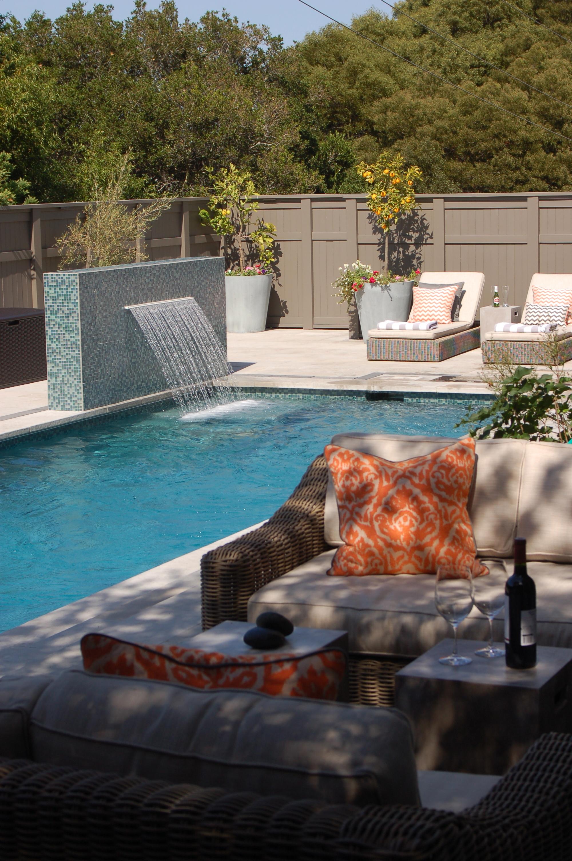 Riverflow Pool  Larkspur, California