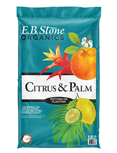 The perfect mix for all citrus, palms and other tropical plants. Our  Citrus & Palm Planting Mix  is blended to provide excellent aeration and water retention to help your citrus and other tropical plants thrive.   READ MORE