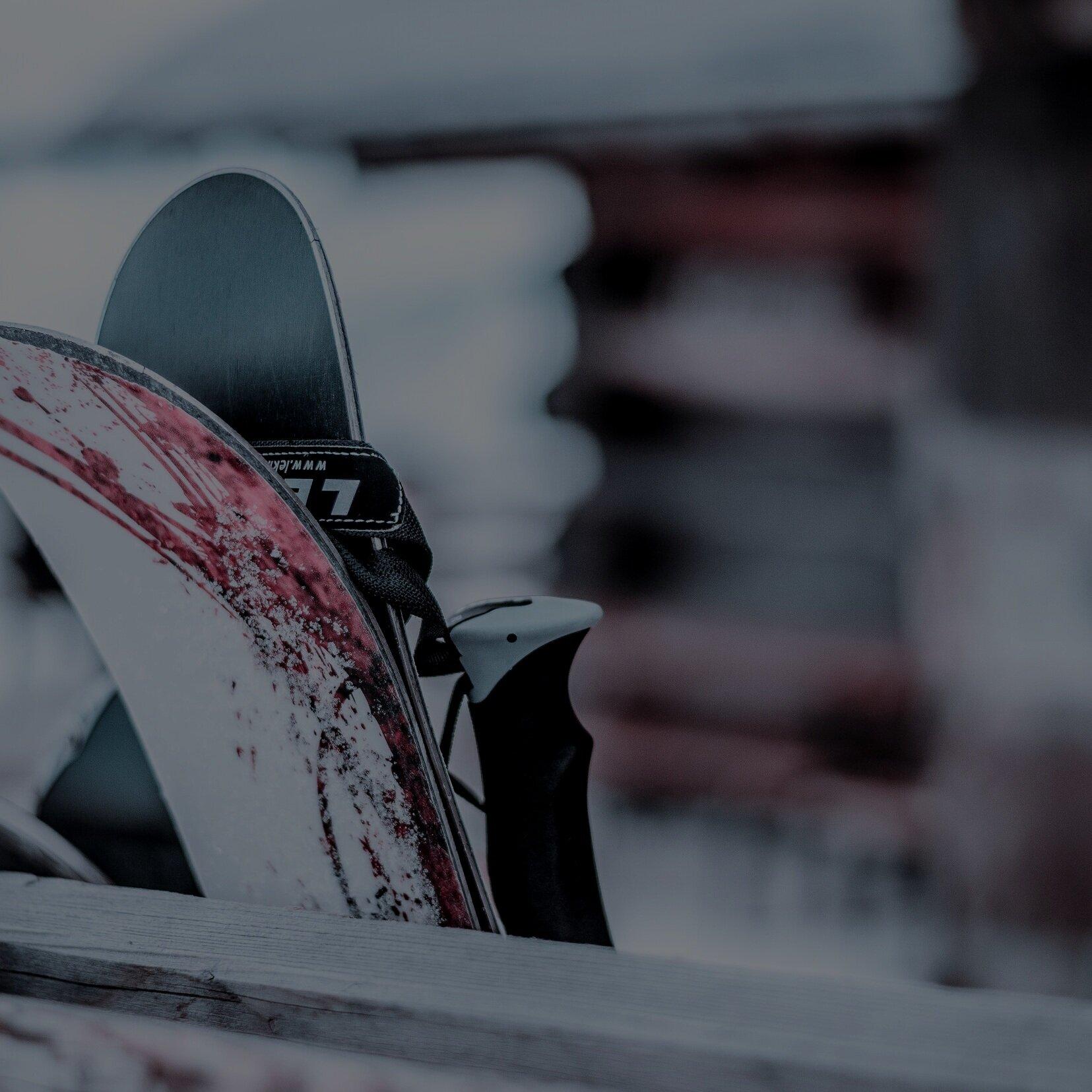 Free Slope Side Ski Storage -
