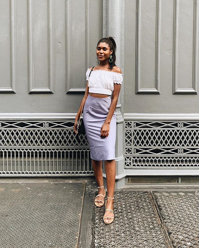summer aka midi skirt takeover season