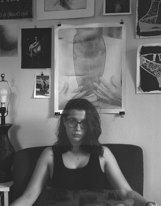 8x10 View Camera Self Portrait