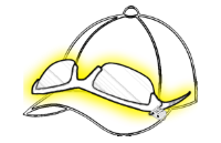 Sunglass Lockdown Tether
