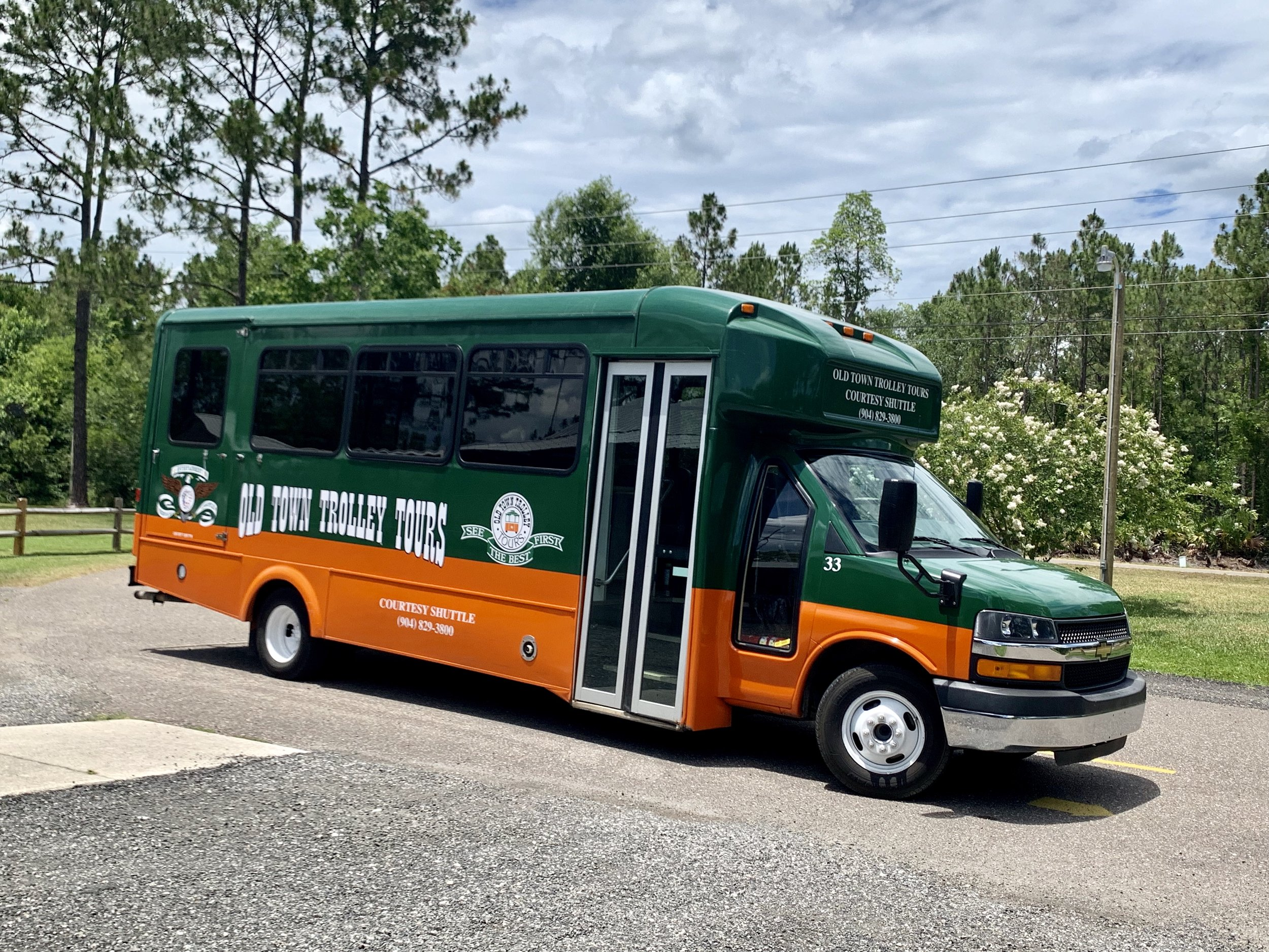 Trolley pick available from Old Town Trolley Tours -